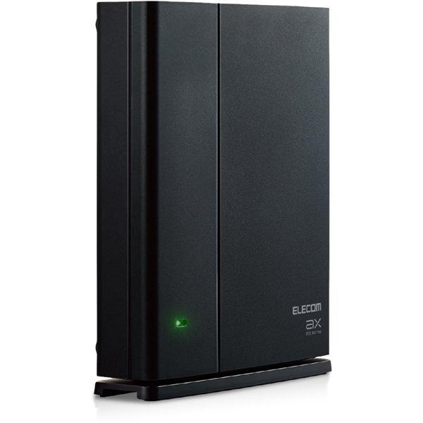 WMC-X1800GST-B [Wi-Fiルーター親機単体 メッシュネットワーク対応 1201+574Mbps 有線Giga IPv6(IPoE)対応 ブラック セキュリティ機能付き 11ax.ac.n.a.g.b]