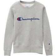 CWQ001-070-L [champion(チャンピオン) ウィメンズ クルーネックスウェットシャツ CW-Q001 オックスフォードグレー L]