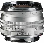 NOKTON Vintage Line 50mm F1.5 II SV MC [50mm F1.5 マルチコート VMマウント シルバー]