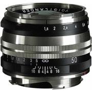 NOKTON Vintage Line 50mm F1.5 II Ni SC [50mm F1.5 シングルコート VMマウント ニッケルメッキ/ブラックペイント]