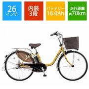 BE-ELD636Y2 [電動アシスト自転車 ビビ・DX26 限定 マットハニー]