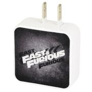 FF-08B [USB2ポート ACアダプター FAST&FURIOUS(ワイルド・スピード) ロゴ]