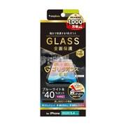 TR-IP20S-GL-GOBCAG [iPhone 12 mini 用 画面保護強化ガラス フルクリア Gorilla Glass ブルーライト低減 反射防止]