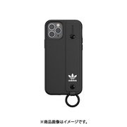 42394 [iPhone 12/iPhone 12 Pro 用 ケース OR Hand Strap Case black]