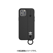 42395 [iPhone 12 Pro Max 用 ケース OR Hand Strap Case black]