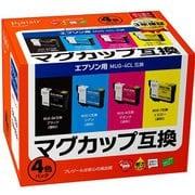 PLE-EMUG-4P [MUG-4CL対応互換インクカートリッジ 4色セット]