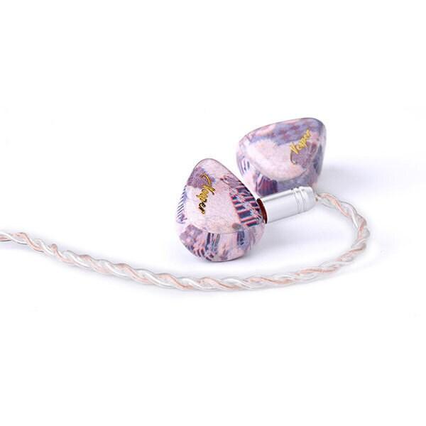 Vesper 紫 -ムラサキ- [1BA+1DD 2ドライバハイブリッドイヤホン]