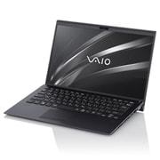 VJS14390211B [VAIO ノートパソコン LTE SX14/14.0型ワイド/Core i5-1035G1/メモリ 8GB/SSD 256GB/Windows 10 Home 64ビット/Office Home & Business 2019/ブラック]