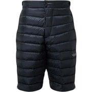 Prosar Shorts QDB-09 Ebony Sサイズ [アウトドア ダウンショーツ メンズ]