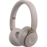 Beats Solo Pro Wirelessノイズキャンセリングヘッドフォン - グレイ [MRJ82PA/A]