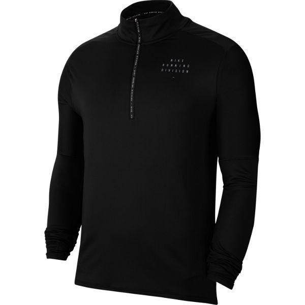 ラン DVN エレメントハーフジップ GX FL CU7853 010 Sサイズ [ランニングシャツ メンズ]