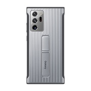 EF-RN985CSEGJP [Galaxy Note 20 Ultra 用 耐衝撃ケース Protective Standing Cover Silver]