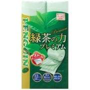 ペンギン 緑茶の力 プレミアム 12ロール トリプル(3枚重ね) [トイレットペーパー]