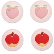 FTJC-03 [ジョイスティック 用 キャップ モモ&リンゴ]