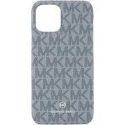 MKSIPBAWPIP1961 [iPhone 11 用ケース MICHAEL KORS-SLIM WRAP CASE SIGNATURE Pale Blue Admiral]