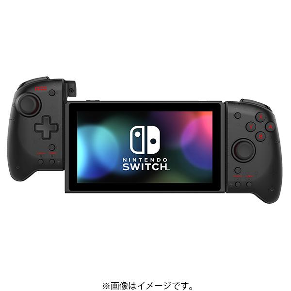 NSW-298 [グリップコントローラー for Nintendo Switch クリアブラック]