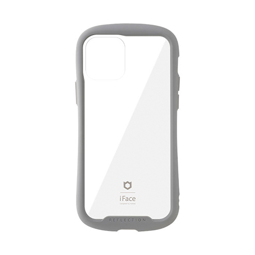 iFace Reflection ケース iPhone 12/iPhone 12 Pro用 グレー