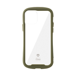 iFace Reflection ケース iPhone 12/iPhone 12 Pro用 カーキ