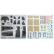QNTD48045 F-16D ブロック30/40/50 内装3D デカール キネティック用 [1/48スケール エアクラフト用デカール]