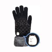 SXAP1428 スマホ対応手袋 すみっコぐらし しろくま [キャラクターグッズ]