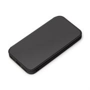 PG-20MGF01BK [iPhone SE(第2世代)/iPhone 8/iPhone 7/iPhone 6s/iPhone 6 用 ガラスフリップケース ブラック]