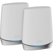 RBK752-100JPS [NETGEAR Orbi WiFi 6 Mini 対応(11AX対応)トライバンドメッシュルーター 2台セット]