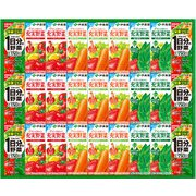 TY-30G [野菜飲料詰め合わせ 27本入(1日分の野菜 200ml×6本・充実野菜 トマトミックス 200ml×6本・充実野菜 緑黄色ミックス 200ml×9本・充実野菜 緑の野菜ミックス 200ml×6本)]