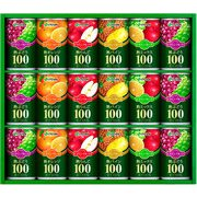VF-20A [100%果汁飲料詰め合わせ 18本入(熟ぶどう 160g×6本・熟りんご 160g×3本・熟ミックス 160g×3本・熟オレンジ 160g×3本・熟パイン 160g×3本)]