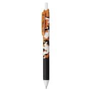 BLN125C5-A [ゲルインキボールペン エナージェル エス 0.5mm 黒インク 限定 ねこ柄 ジャパニーズボブテイル]