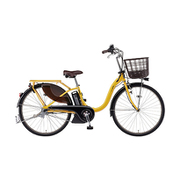 PA26W [電動アシスト自転車 PAS With パス ウィズ 26型 12.3Ah 内装3段変速 スモークイエロー]