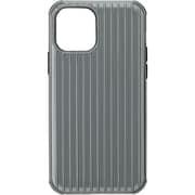 CHCRS-IP11GRY [iPhone 12/iPhone 12 Pro 用 Rib-Slide Hybrid Shell Case グレー]