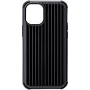 CHCRS-IP10BLK [iPhone 12 mini 用 Rib-Slide Hybrid Shell Case ブラック]