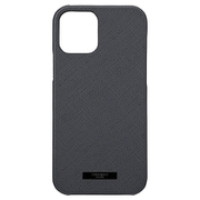 CSCEP-IP11DNV [iPhone 12/iPhone 12 Pro 用 EURO Passione PU Leather Shell Case ダークネイビー]