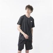 NBRC ショートスリーブ Tシャツ AMT03222 BK ブラック Mサイズ [ランニングシャツ メンズ]