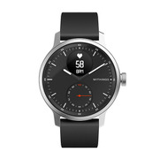 HWA09-MODEL 4-ALL-RO [スマートウォッチ Withings ScanWatch 42mm BLACK シリコン]
