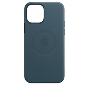 MagSafe対応iPhone 12 Pro Max レザーケース バルティックブルー [MHKK3FE/A]