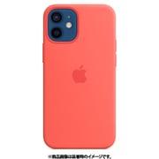 MagSafe対応iPhone 12 mini シリコーンケース ピンクシトラス [MHKP3FE/A]