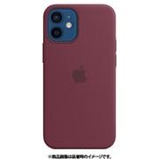 MagSafe対応iPhone 12 mini シリコーンケース プラム [MHKQ3FE/A]
