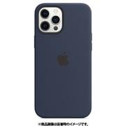MagSafe対応iPhone 12 Pro Max シリコーンケース ディープネイビー [MHLD3FE/A]