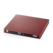 LBD-PWA6U3CLRD [Blu-rayディスクドライブ USB3.0 スリム 書き込みソフト付 UHDBD対応 Type-Cケーブル付 セキュリティ機構搭載 レッド]