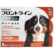 フロントラインプラス 犬用 XL 40~60kg未満 6本入 [犬用医薬品 ノミ・マダニ駆除]