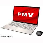 FMVN77E3GC [ノートパソコン LIFEBOOK NHシリーズ/17.3型ワイド/Ryzen 7 4700U/メモリ 8GB/SSD 512GB/BDXL対応Blu-rayディスクドライブ/Windows 10 Home 64ビット/Office Home and Business 2019/シャンパンゴールド/ヨドバシカメラオリジナルモデル]