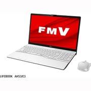 FMVA53E3W [ノートパソコン LIFEBOOK AHシリーズ/15.6型ワイド/Core i7-1165G7/メモリ 8GB/SSD 512GB/DVDスーパーマルチドライブ/Windows 10 Home 64ビット/Office Home and Business 2019/プレミアムホワイト]