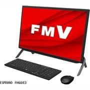 FMVF60E3B [デスクトップパソコン ESPRIMO FHシリーズ/23.8型ワイド/Ryzen5 4500U/メモリ 8GB/SSD512GB/DVDドライブ/Windows 10 Home 64ビット/Office Home and Business 2019/ブラック]