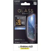 PM-G204FLGG [Galaxy A21 用 ガラスフィルム/0.33mm]