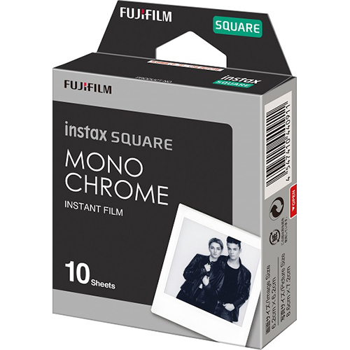instax SQUARE INSTANT FILM MONOCHROME WW 1 [チェキフィルム instax SQUARE用 モノクローム 10シート]