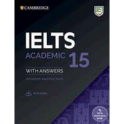 Cambridge IELTS 15 Academic Student's Book with answers with Audio [洋書ELT]