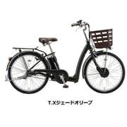 RK6B41 3P177C0 [電動アシスト自転車 RAKUTTO(ラクット) 26型 内装3段変速 T.Xジェードオリーブ]