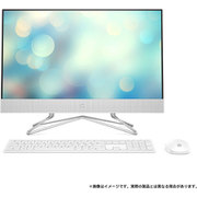 9EH12AA-AAAB [HP 24-df0000 AiO G1モデル Core i5-10400T/メモリ 8GB/SSD 256GB+HDD 2TB/Windows 10 Home (64bit)/Office Home & Business 2019/ピュアホワイト]
