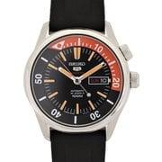 SRPB31J1 [腕時計 Seiko 5 Sports(セイコー5スポーツ) Auto 自動巻き メンズ ラバーバンド ブラック]